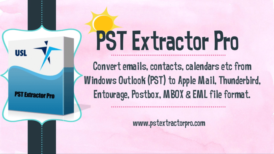 convert outlook pst to apple mail