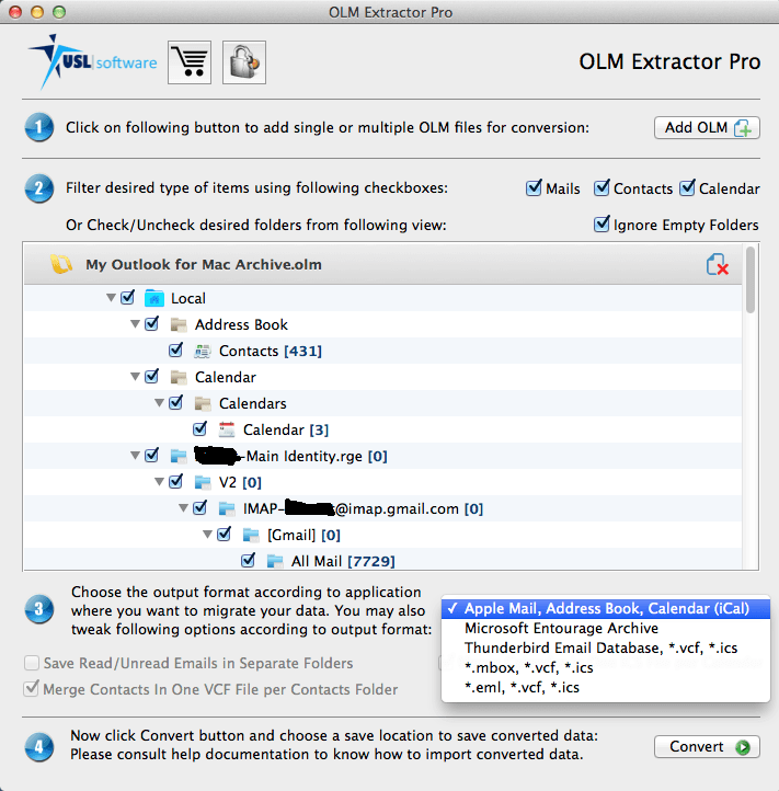 Outlook 2011 to OS X Mail Migration Experience Softened 3