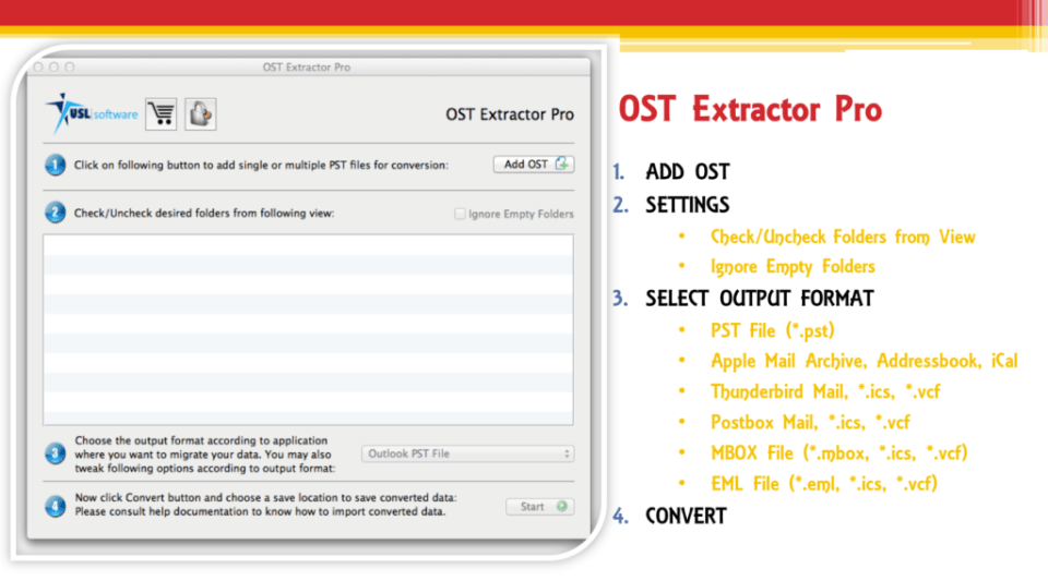 exporting ost to eml