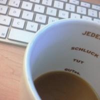 Montagmorgenkaffee