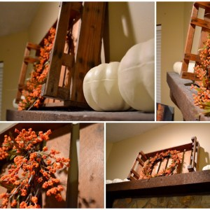 Quick Fall Mantel