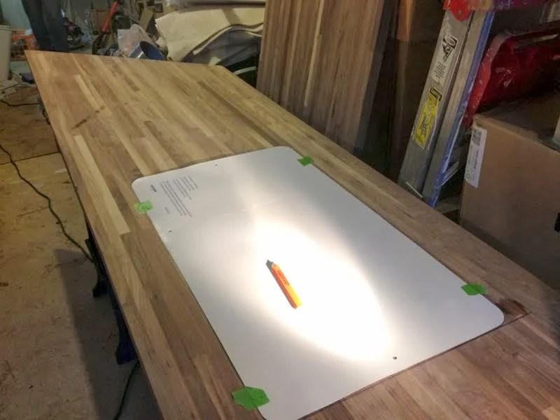 how to fix a bad cut in butcher block