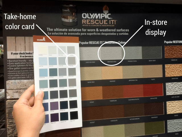 Olympic Rescue It color options