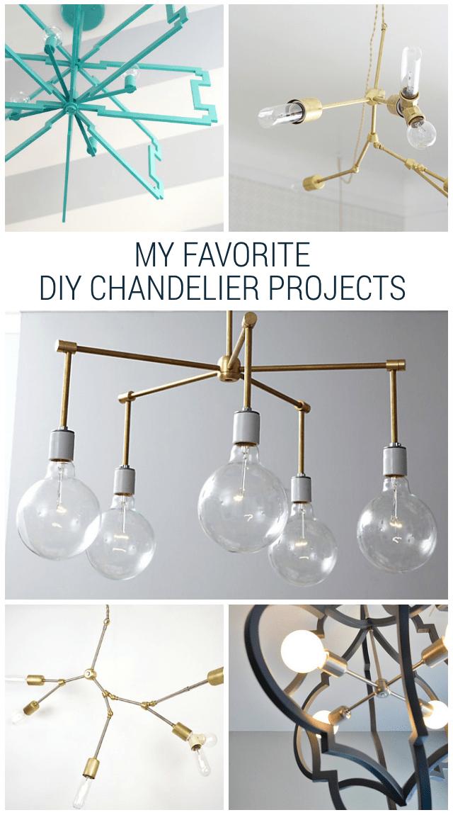 Six Amazing DIY Chandelier Projects