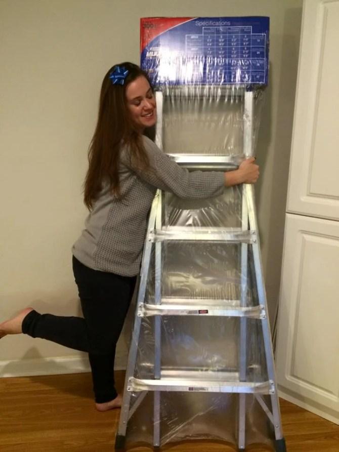 ladder hug