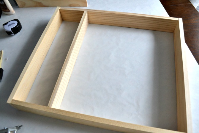 silverware drawer organizer frame