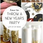 Dollar Store New Years Decor 2017