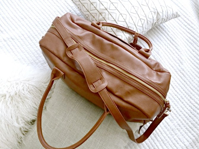weekend travel bag for overnight trips