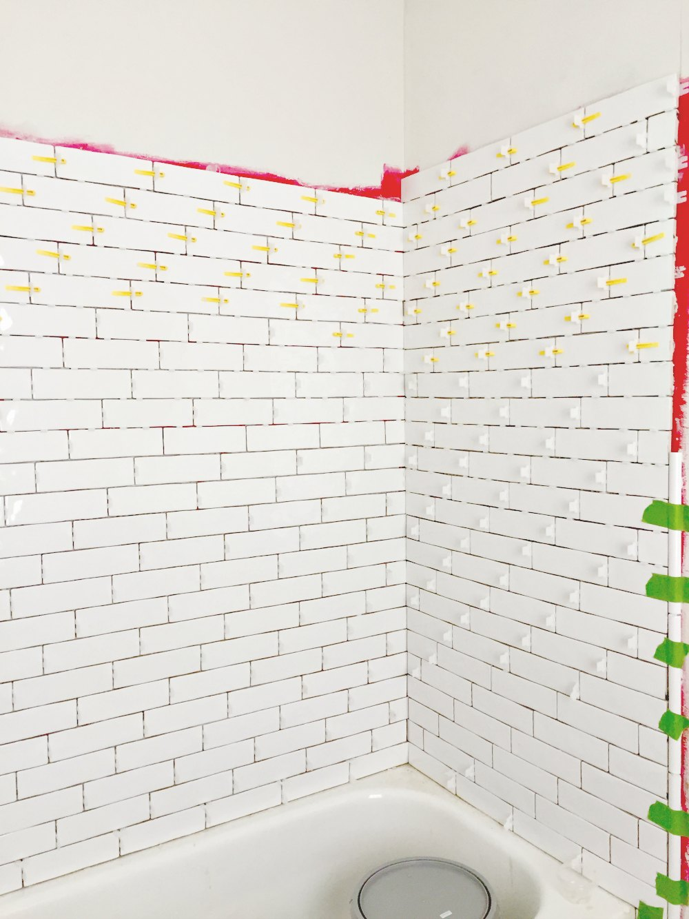 tiling a bathtub shower