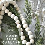 Diy Extra Long Wood Bead Garland 3 Ways Ugly Duckling House