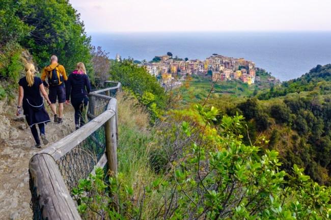 The View Towards Corniglia