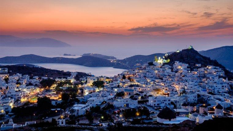 Ios Chora, Cyclades, Greece
