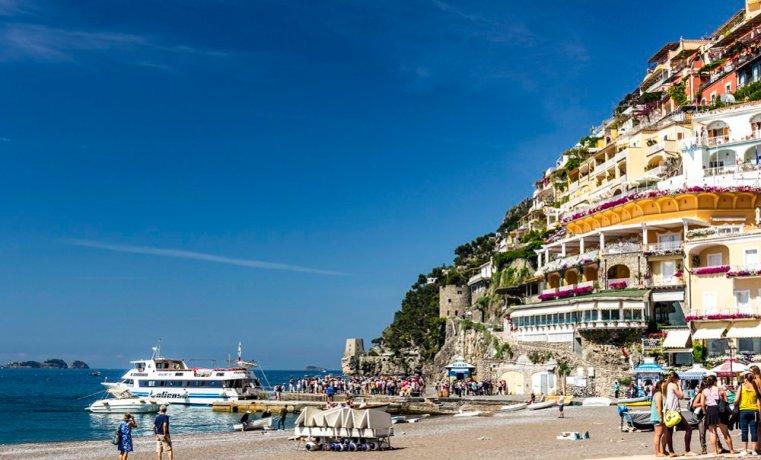 On the Beach in Positano