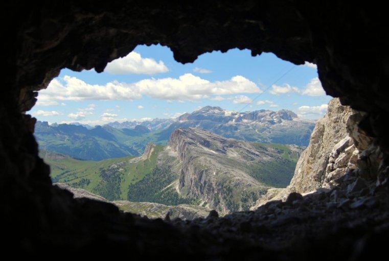 WW1 Tunnel, Italian Dolomites © Bethany Lloyd