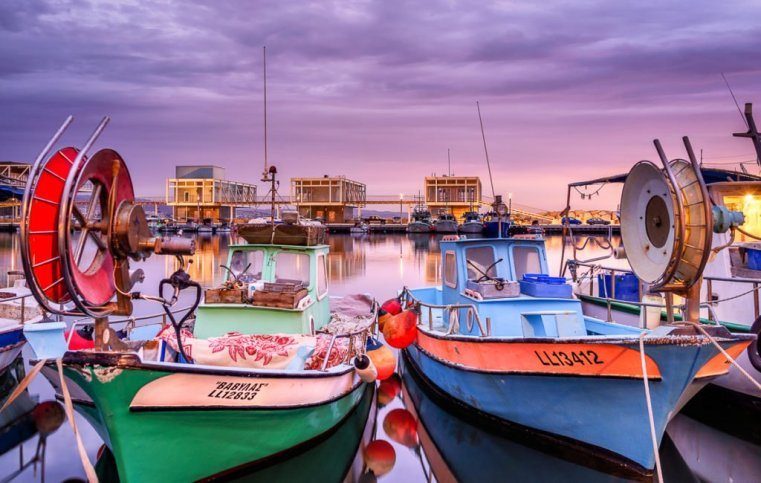 Sunrise Harbor, Limassol, Cyprus