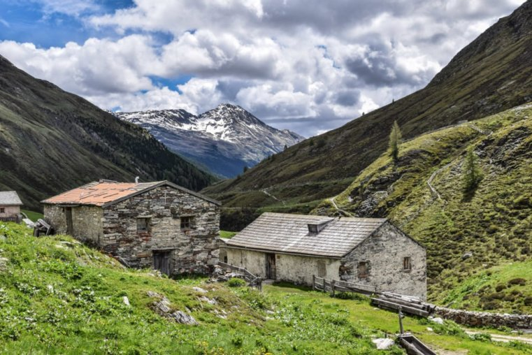 Abandoned farming community, Hohe Tauern