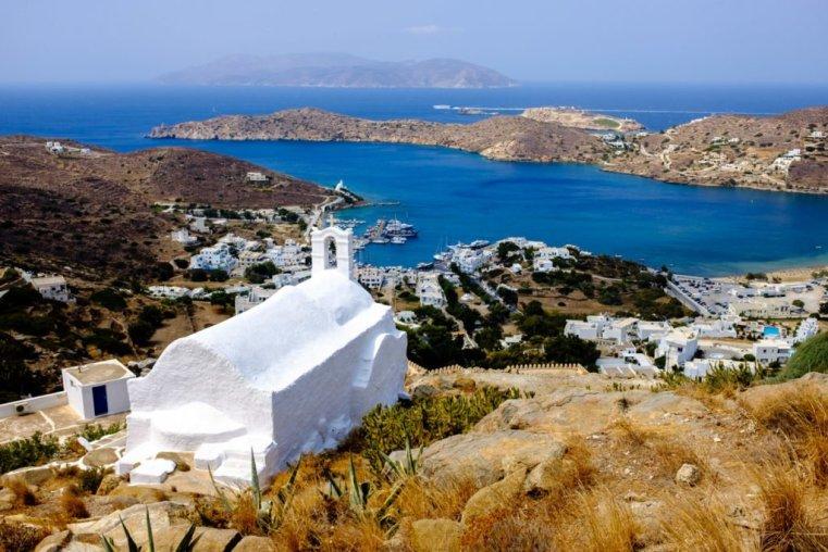 Ios Harbor, Greece