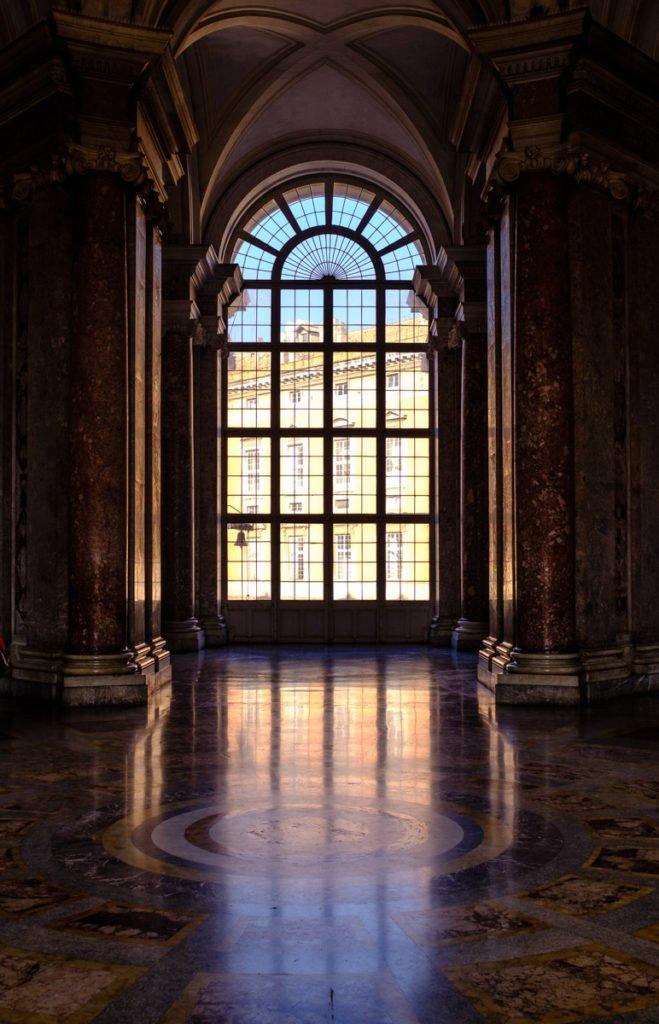 The Royal Palace at Caserta