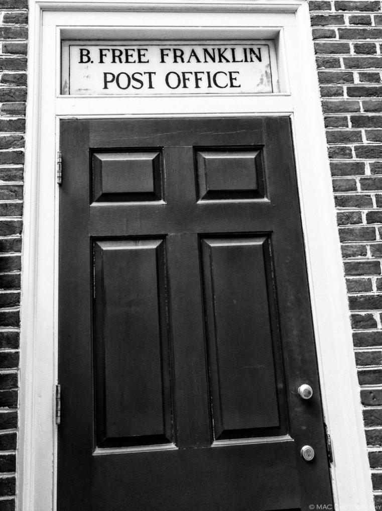 B. Free Franklin Post Office rear entrance