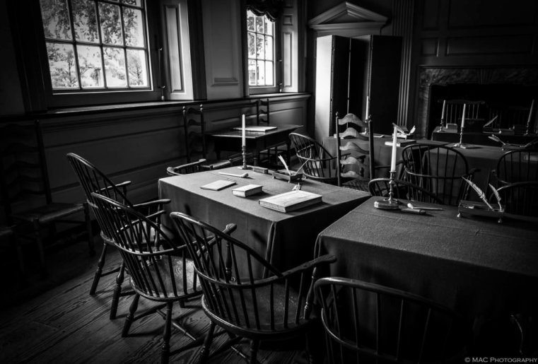 """Planning a Nation"" – inside Independence Hall where the action took place in 1776"