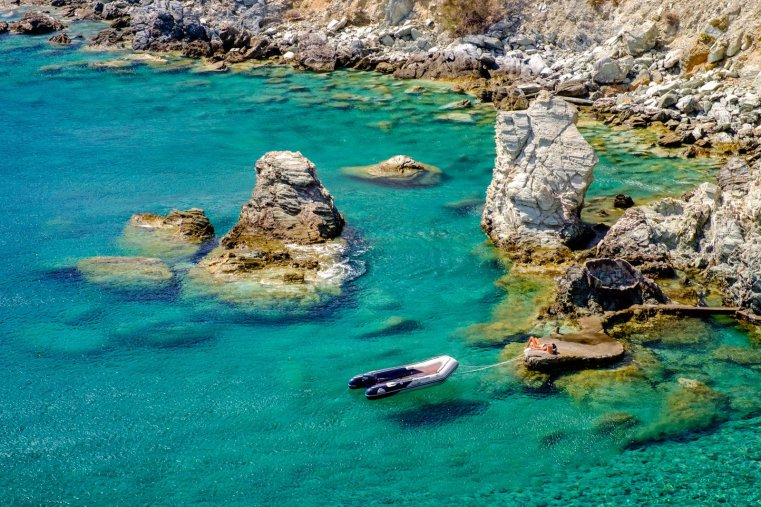 Galifos Cove, Folegandros, Greece