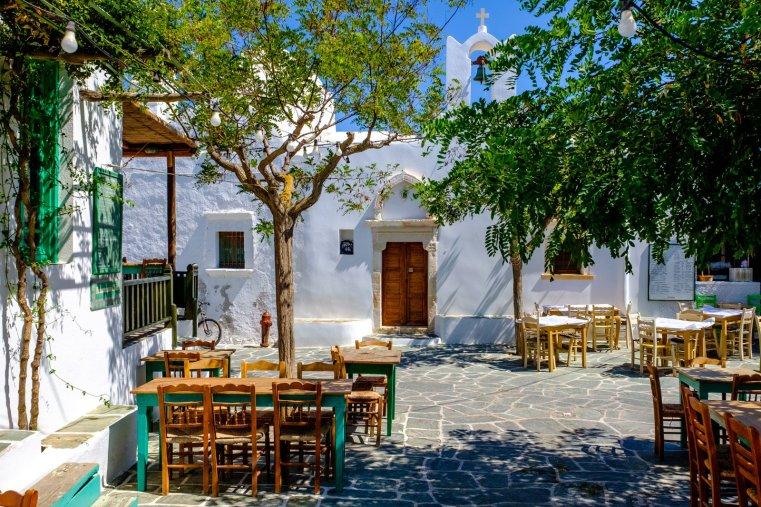 Chora, Folegandros, Greece