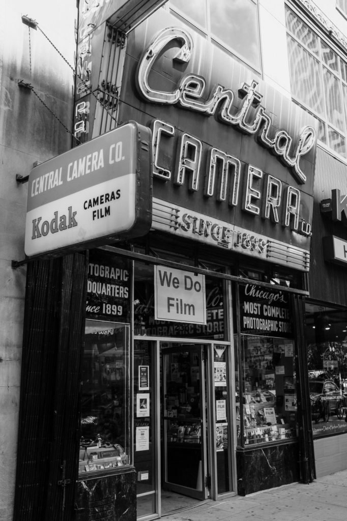 Central Camera Co., Wabash Ave., Chicago