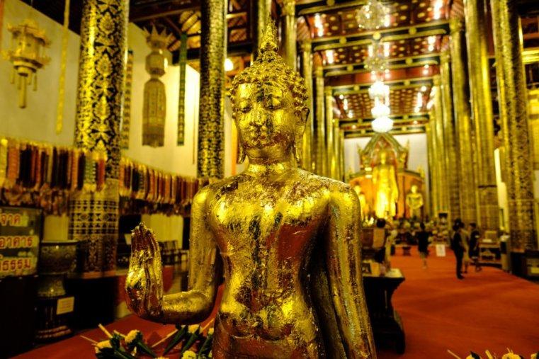 Wat Chiang Mun, Chiang Mai, Thailand