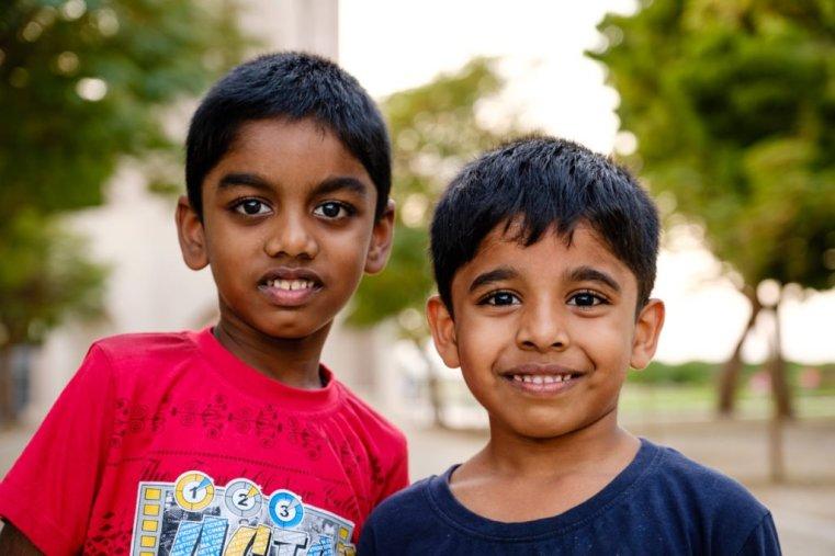 Kids in Muscat, Oman
