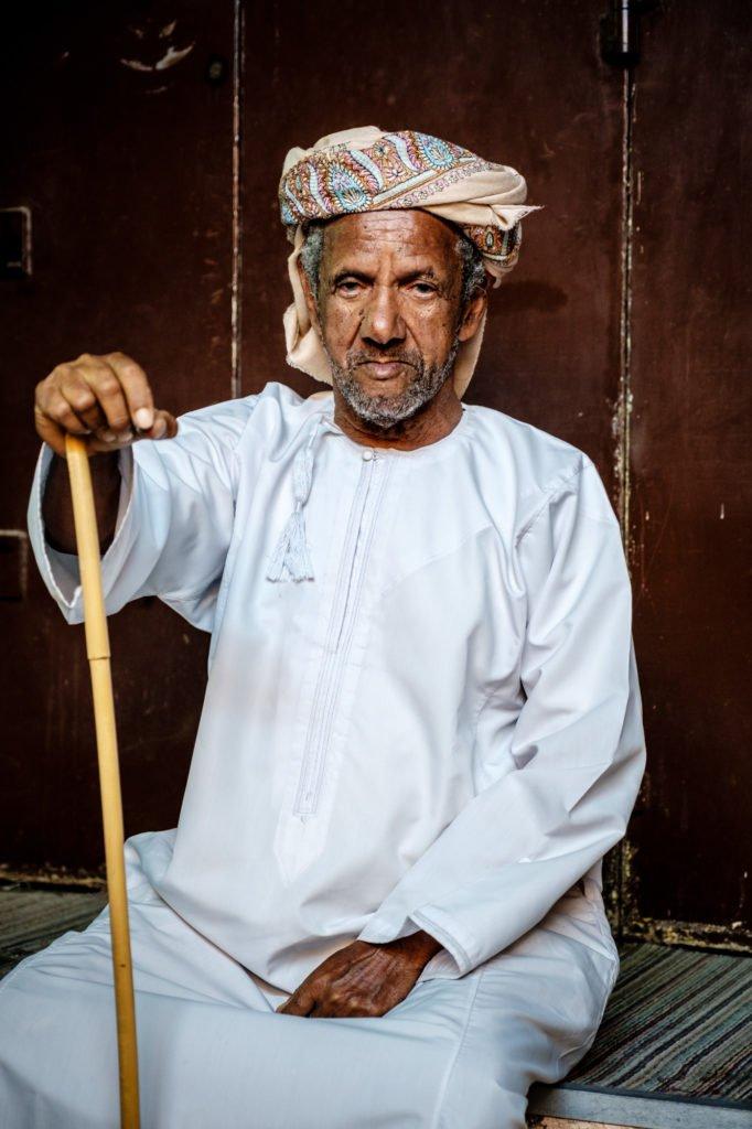 Old Omani Gentleman, Muscat, Oman