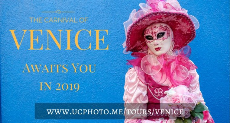 The Carnival of Venice awaits you in 2019