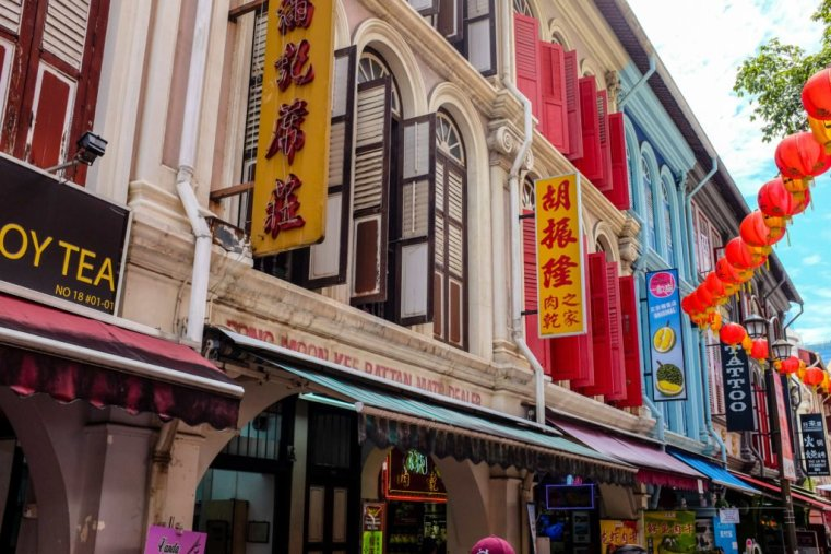 Shophouses, Chinatown, Singapore