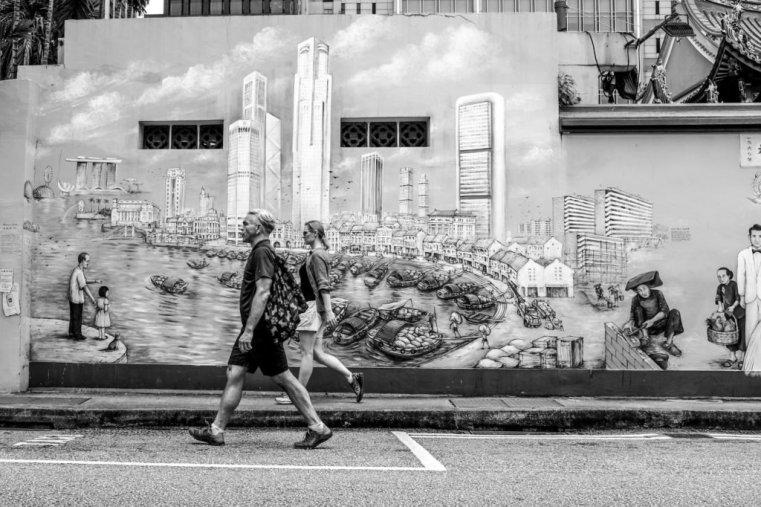 Street Art, Chinatown, Singapore