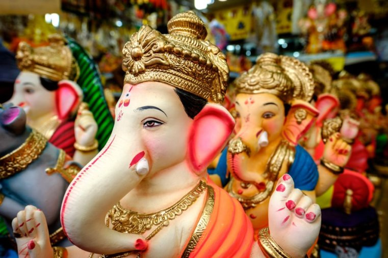 Ganesh and friends, Little India, Singapore