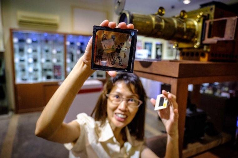 At the Camera Museum, Penang, Malaysia