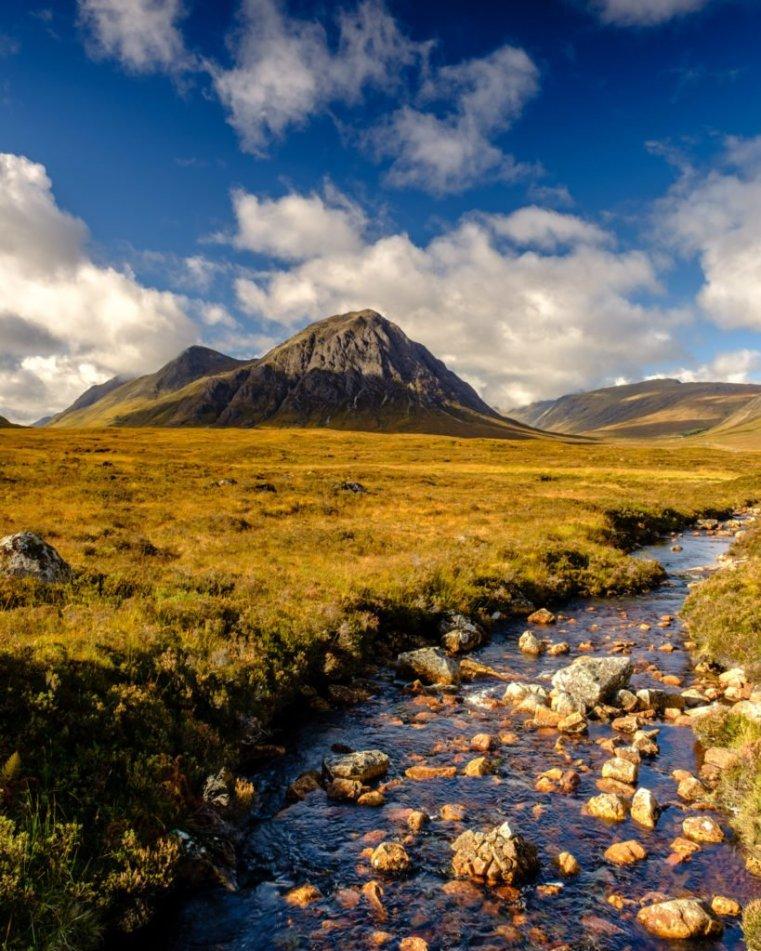 River Etive and Buachaille Etive Mòr, Scotland
