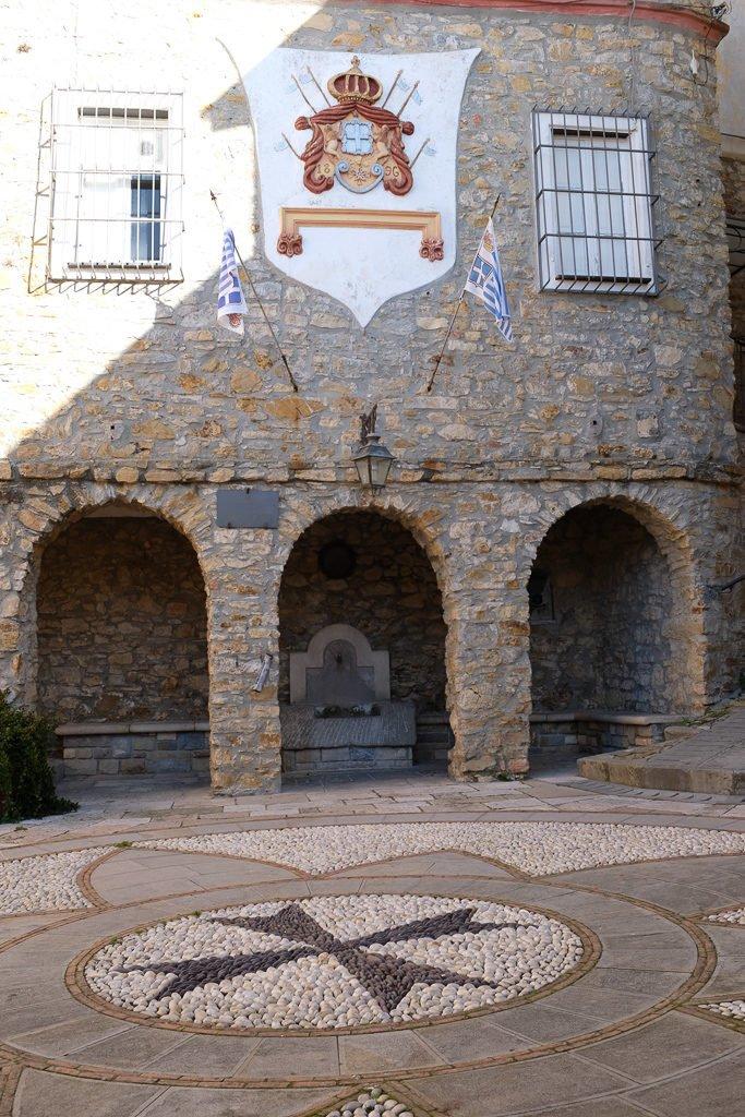 The main square of Seborga