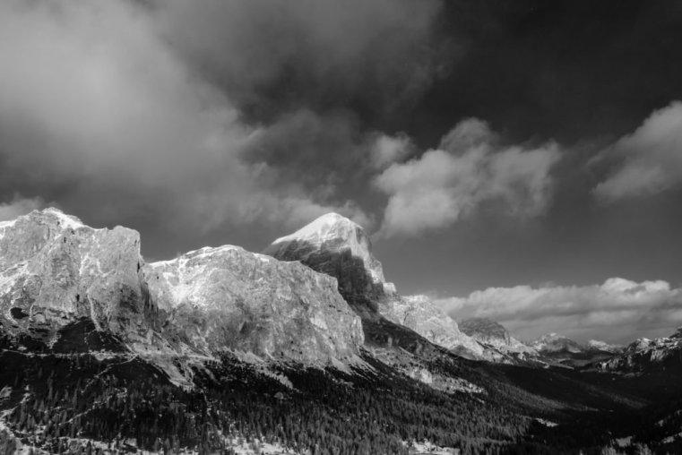 The Tofane Group and the Ampezzo, Italian Dolomites