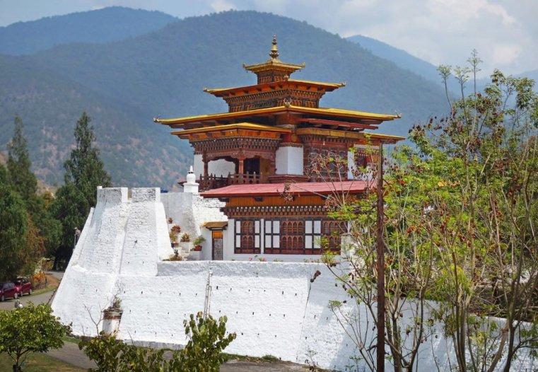 End part of Punakha Dzong