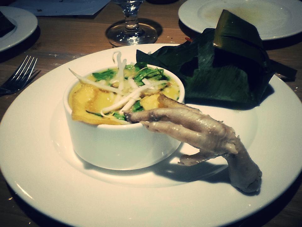 Zupa singapurska z pastą laksa