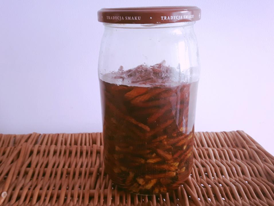Syrop na przeziębienie z pędów sosny
