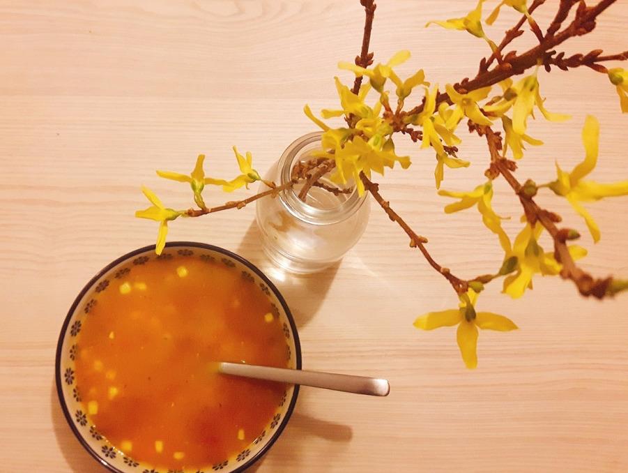 Szybka zupa kukurydziana