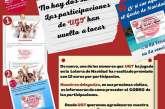 No hay dos sin tres... las participaciones de UGT han vuelto a tocar