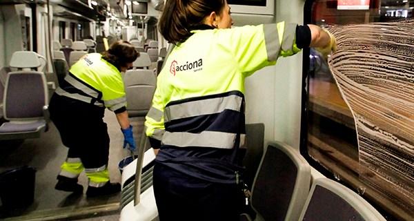 Apertura de las ofertas económicas del concurso de limpieza en el Grupo RENFE