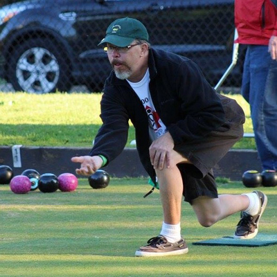 Todd lawn bowling