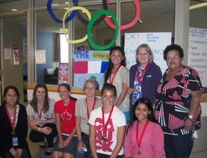 Psychiatry Patients Find Their Inner Olympians