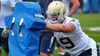 Aaron Lynch - Notre Dame Spring Practice