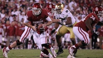 Notre Dame, Oklahoma Football