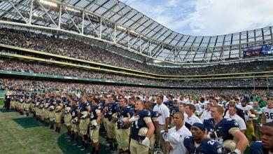 Navy Midshipmen, Ireland 2013