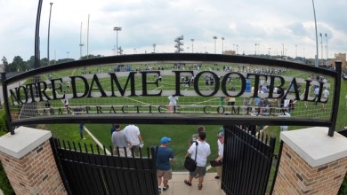 Notre Dame Football - Fall Camp Day 1
